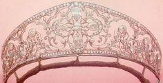 Antique Diamond Tiara of the Imperial Family of Brazil