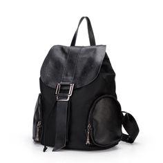 flap-block backpack