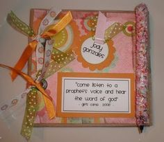 Testimony book for girls camp