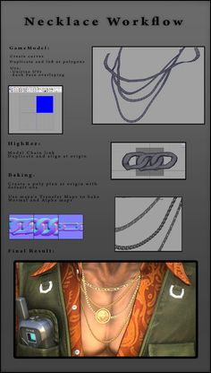 Drawing Tutorial necklace tutorial - Post with 2469 views. 3d Drawing Tutorial, Zbrush Tutorial, 3d Tutorial, Modeling Techniques, Modeling Tips, Digital Painting Tutorials, Digital Art Tutorial, Sculpting Tutorials, Art Tutorials
