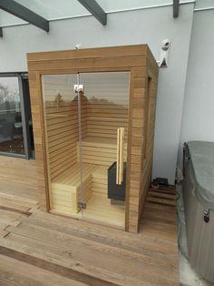 Diy Sauna, Sauna Steam Room, Sauna Room, Sauna Shower, Shower Tub, Saunas, Sauna Wellness, Jacuzzi Room, Sauna House