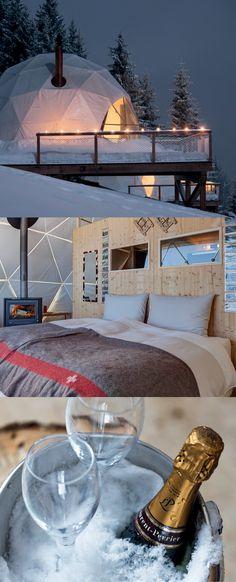 Offres spéciales | Whitepod Eco-Luxury Hotel ❄ Valais Suisse