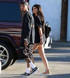 Kylie Jenner & Tyga #streetstyle