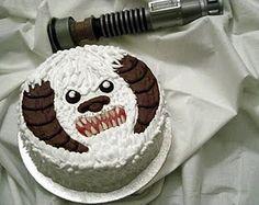 Tauntaun Cake.  I wonder if it smells bad on the inside?