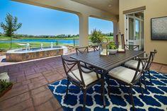 Fiori at Serrano in El Dorado Hills, CA l Plan 1 l Ourdoor Living Area