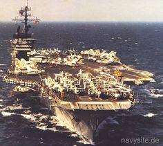 USS America (CV-66) Navy Military, Military Photos, Military Life, Navy Day, Go Navy, Navy Times, Uss America, Us Navy Ships, Naval History