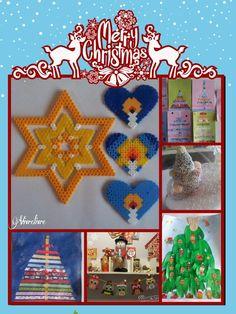 Nouvelles activités de Noël: autour du sapin, cartes de vœux et un livre d'activités.