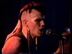 The Southern Death Cult Live at The Brixton Ace, London. Shown on the Channel 4 TV show Whatever You Didn't Get Broadcast on 07 March Taken from my . Ian Astbury, Nina Hagen, Sisters Of Mercy, Experimental Music, Post Punk, Brixton, Pop Music, Reggae, The Magicians