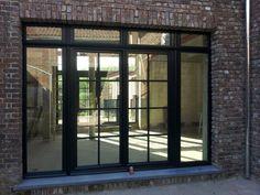Camba ramen en deuren-191 Exterior Sliding Glass Doors, Exterior Doors, Garden Doors, Patio Doors, Dream House Plans, House Floor Plans, Exterior Design, Interior And Exterior, External French Doors