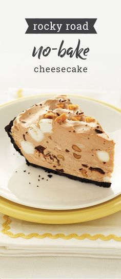 Rocky Road No-Bake Cheesecake – Create a delicious summer dessert with little effort thanks to this chocolatey, no-bake recipe. With a filling of marshmallows and peanuts, this cool treat can't be beat. And, as a part of the Feed Your Family Feed the World campaign, share a picture of this recipe to donate a meal and help support the fight against hunger.