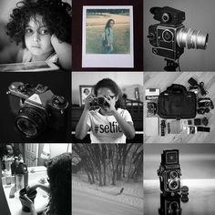 #2015bestnine Who would have guessed? The girls and cameras.  #filmsnotdead #filmcamera #kidsrock #selfie #monochrome #instant #impossibleproject #hasselblad #developer #whatsinmybag