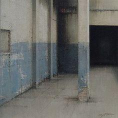 Garaje. Autor: Morago Oleo / Tabla