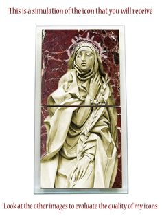 Hey, I found this really awesome Etsy listing at https://www.etsy.com/listing/450979188/saint-catherine-of-siena-ceramic-and