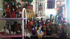 Muñecas de vellon  Kimeltufieltro hecho a mano