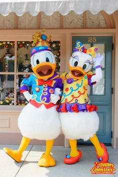HKDL 10th Happily Ever after 2015 10周年限定 グリーティング ドナルドダック デイジーダック