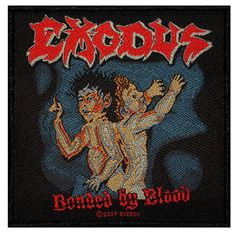 Band Exodus Bonded By Blood Album Art Thrash by YourPatchStore