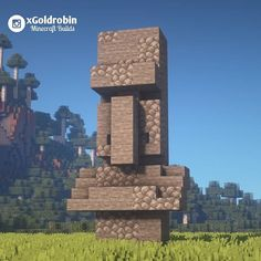 Likes, 57 Comments - Goldrobin - Minecraft Builder ( on Instag. - Minecraft buildings - The Dallas Media Minecraft Fountain, Minecraft Statues, Minecraft Garden, Minecraft Plans, Mine Minecraft, Amazing Minecraft, Minecraft Tutorial, Minecraft Blueprints, Cool Minecraft Houses