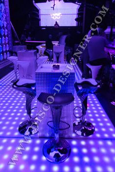 Disco Club, Relief, Disco Ball, Light Table, Night Club, Html, Designer, Remote, Custom Design