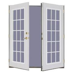 Masonite french doors for patio... (pre-hung). $388