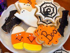 Halloween Cookies {Butter Cookie Recipe}