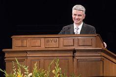 «En son temps» : l'Evêque Gérald Caussé s'adresse aux étudiants de BYU Idaho