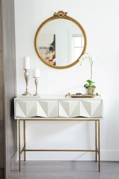 The best inspirations for your next interior design project! Discover the right console table at http://www.maisonvalentina.net/