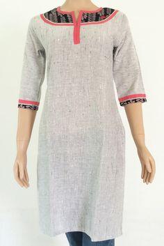 Kurta: Khadi cotton MKA01A0247