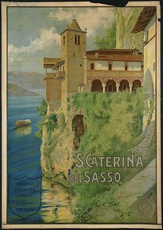 another vintage travel poster of Italy