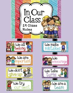 Positive Classroom Statements : Use this super cute set of classroom room to remind your students of your expectations. These rules were created with a positive tone. Classroom Organisation, Classroom Displays, Classroom Themes, Classroom Management, Future Classroom, Classroom Environment, Classroom Setting, Classroom Design, Preschool Classroom