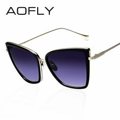 69a3360c32 AOFLY New Fashion Women Sunglasses Cat Mirror Glasses Metal Cat Eye  Sunglasses  affilink  polarizedsunglasses