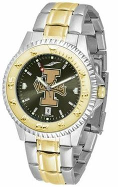 Idaho Vandals UI NCAA Mens Two-Tone Anochrome Watch SunTime. $93.95. Two-Tone Stainless Steel. AnoChrome Dial Enhances Team Logo And Overall Look. Links Make Watch Adjustable. Men. Officially Licensed Idaho Vandals Men's Stainless Steel and Gold Tone Watch. Save 21% Off!