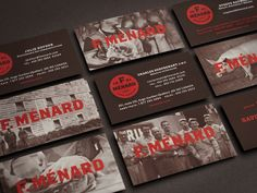 F. Ménard Logo and Identity