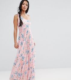 Get this Asos Petite's casual dress now! Click for more details. Worldwide shipping. ASOS PETITE One Shoulder Pleated Maxi Dress in Floral Print - Multi: Petite dress by ASOS PETITE, Soft-touch fabric, Floral print, One-shoulder cut, Softly-pleated design, Regular fit - true to size, Machine wash, 100% Polyester, Our model wears a UK 8/EU 36/US 4 and is 158cm/5'2 tall, Maxi dress length between: 135.5-145.5cm. 5�3�/1.60m and under? The London-based design team behind ASOS PETITE take all ...