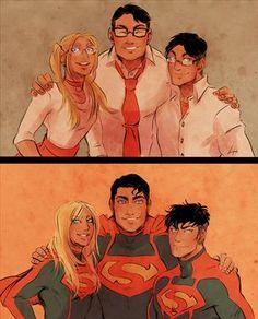 ArtStation - DC Art but mainly Superboy, Rebecca T Comic Movies, Comic Books Art, Comic Art, Mundo Superman, Batman And Superman, Supergirl Superman, Superman Family, Dc Memes, Dc Comics Characters
