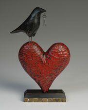 ****Raven Heart - scavengerart.com  Mark Orr (Michigan artist)