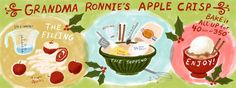 Grandma Ronnies Apple Crisp By Talitha Shipman