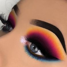 Eye make-up for eye makeup makeup and eyelash extensions makeup new Makeup Style extensions Eye Eyelash Glitter Makeup Makeup Style names Bright Eye Makeup, Makeup Eye Looks, Eye Makeup Art, Colorful Eye Makeup, Beautiful Eye Makeup, Pretty Makeup, Eyeshadow Makeup, Mua Makeup, Eyeshadow Ideas