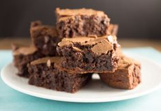 Crunchy-Topped Fudgy Brownies