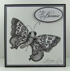 Norma Lee makes beautiful cards