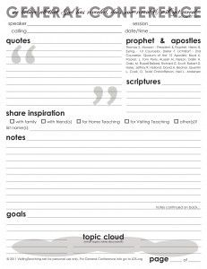 General Conference sheet.  So cute!  Click on it to get the PDF.    #MormonLink.com