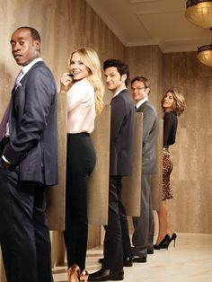 House of Lies Ad.-- Is it just me or is this evoking the idea of the men's restroom? As powerful, corporate women, what does it say about the aggressiveness (emotional male-aspects) of the females in the photo?