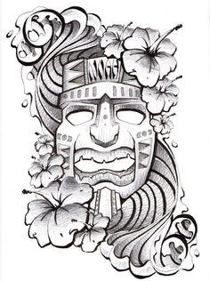 Hawaiian Tattoo by Todd Robinson, via Behance