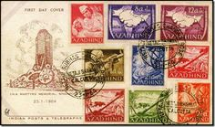 07-Azad Hind Stamps                                                                                                                                                     More