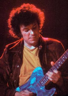 Mike Bloomfield, one of the great guitarist to emerge in the 60's. His work with the Paul Butterfield Blues Band and Electric Flag was some of the most exciting work of the time...