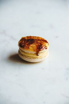 Crem Brule Macaroon! Must try this!