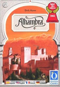 Der Palast von Alhambra. Spiel des Jahres 2003. Für 2-6 Spieler ab 8 Jahren.: Amazon.de: Spielzeug - again maybe a little complicated, but super fun!