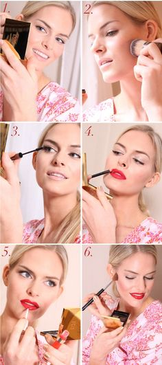 Make up application tips and tricks