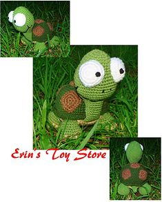 Murtle the Turtle a Crochet Pattern by Erin Scull Crochet Animals, Crochet Toys, Amigurumi Patterns, Crochet Patterns, Crochet Turtle, Turtle Pattern, Toy Store, Pet Toys, Diy Crafts