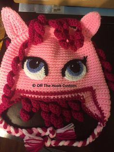 Pony, Crochet Hats, Beanie, Costumes, Clothing, Fashion, Pony Horse, Knitting Hats, Outfits