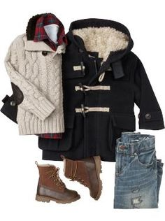 handsome little man style Toddler Boy Fashion, Little Boy Fashion, Toddler Boy Outfits, Kids Fashion, Man Fashion, Fashion Boots, Fashion Outfits, Boys Winter Clothes, Baby Kids Clothes